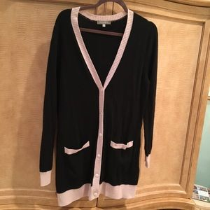 Neiman Marcus Cashmere Long Cardigan Sweater